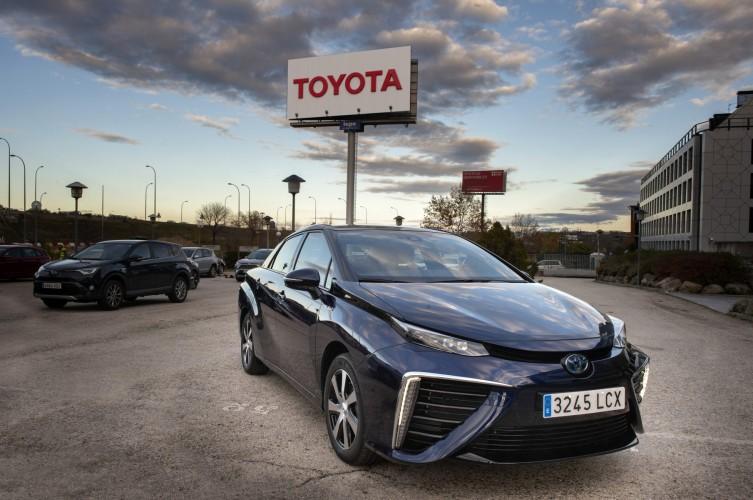 Toyota Mirai Spain