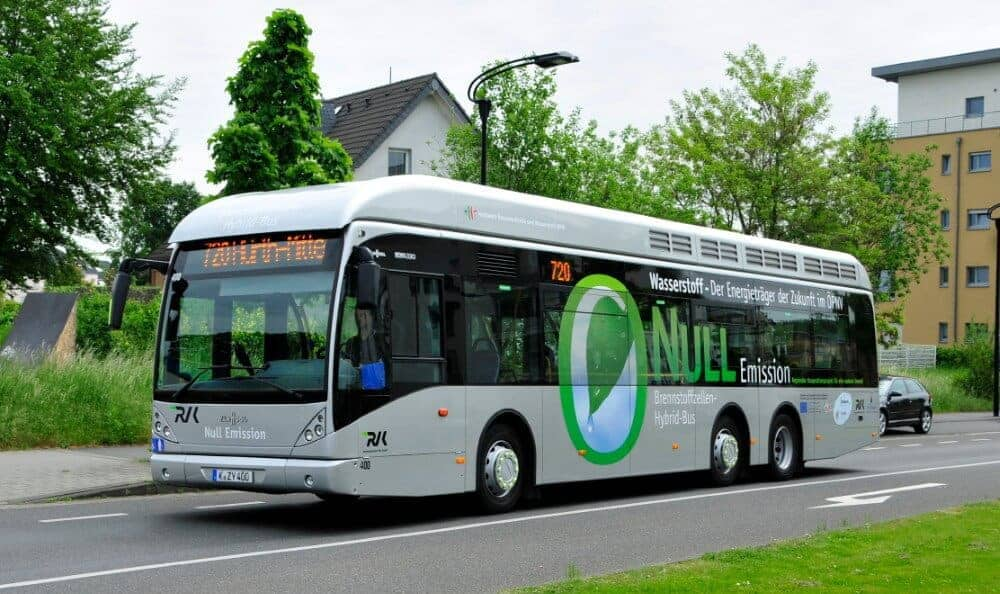 WSW Hydrogen Bus First Bus Delivered