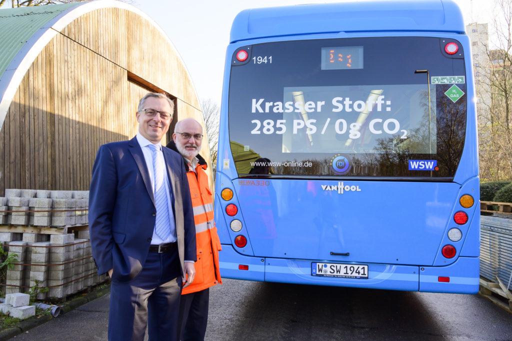 WSW Hydrogen Bus Fleet