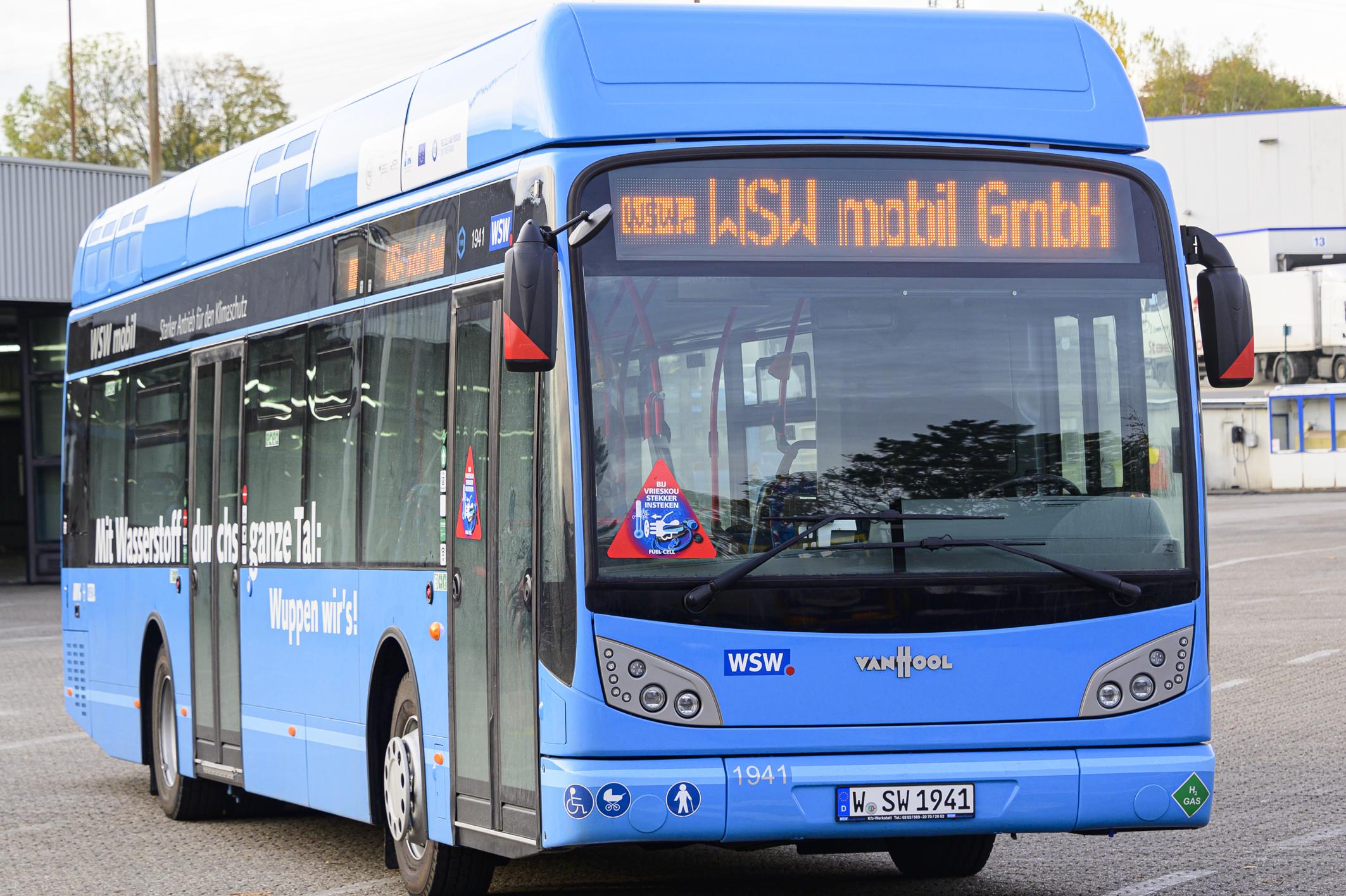WSW Hydrogen Bus Fleet 2