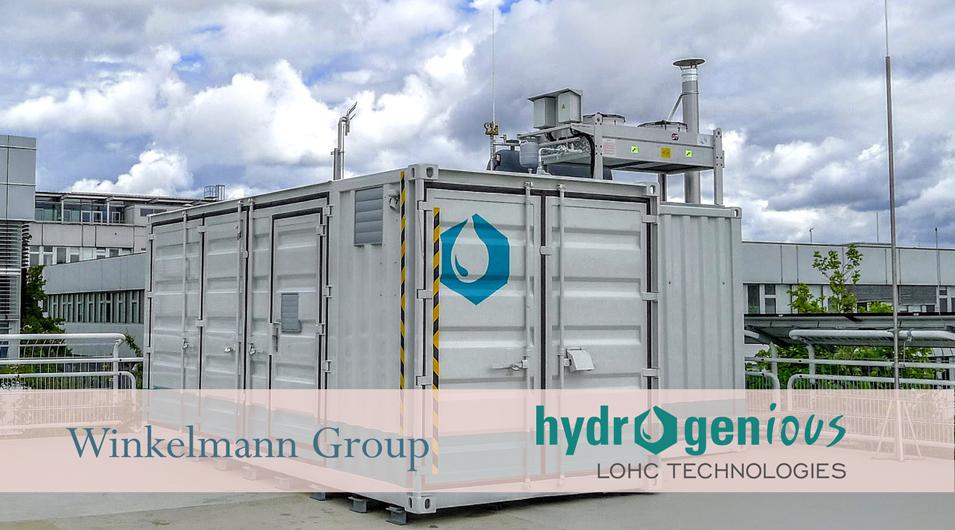 Winkelmann Hydrogenious Container
