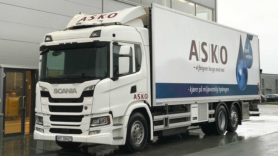 ASKO Hydrogen Truck