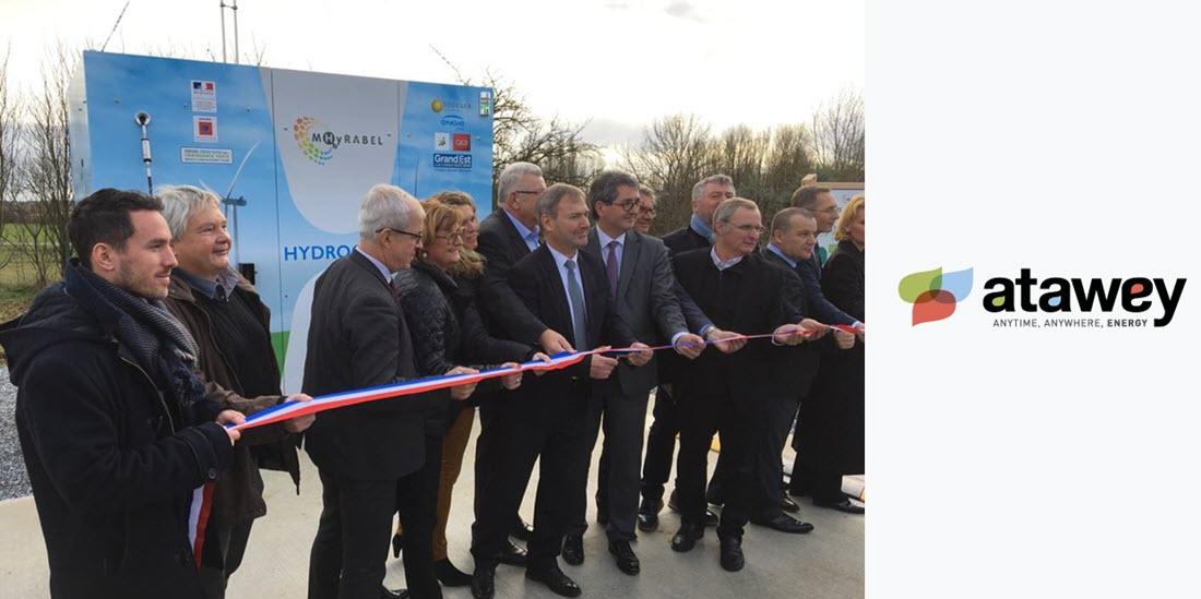 ATAWEY Hydrogen Station Opening 15th