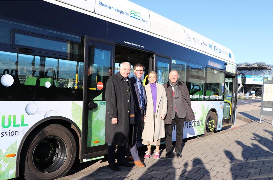 Bensberg to Cologne Bonn Airport Hydrogen Bus 1