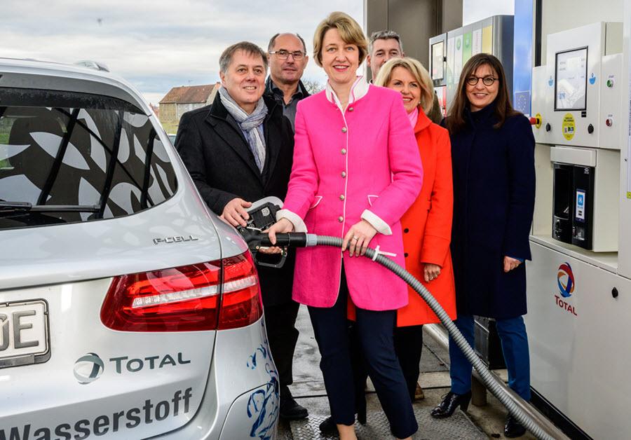 Biebelried Total Hydrogen Station Ceremony