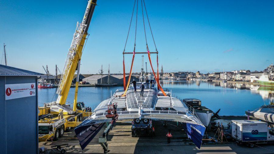 Energy Observer back at sea3