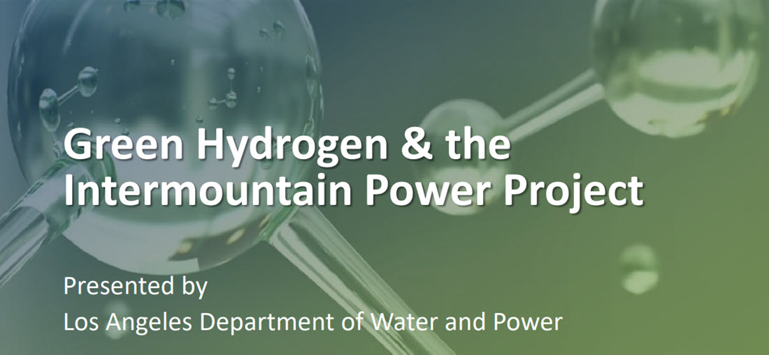 Green Hydrogen LADWP