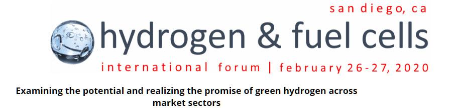 Hydrogen Int. Forum in San Diego