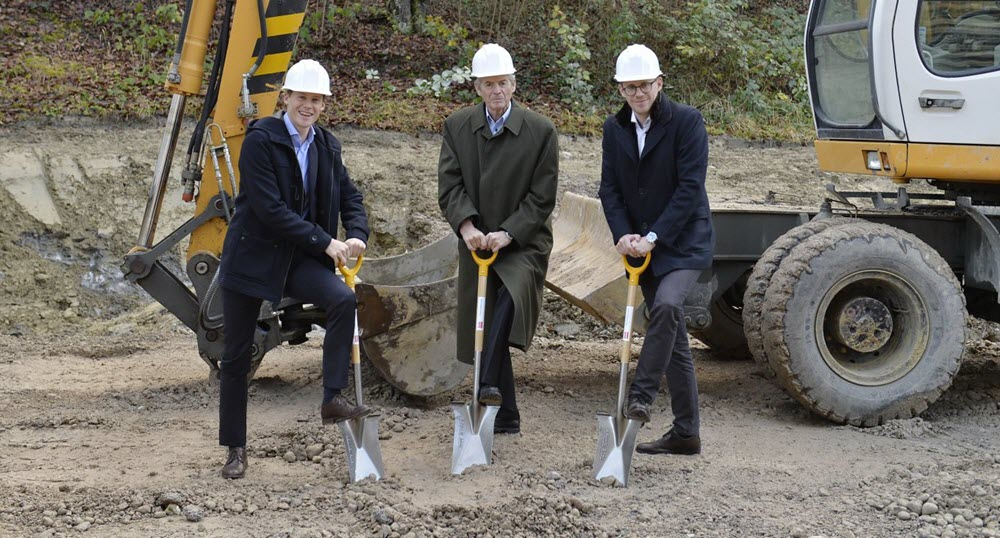 Hydrogen Station Groundbreaking Ceremony in Eastern Switzerland