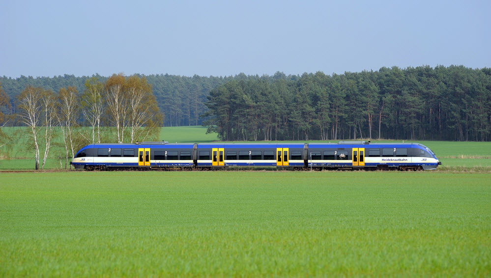 Hydrogen Trains on the Heidekrautbahn are expected to start in late 2024