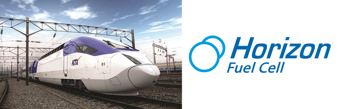 KRRI Train with Horizon Fuel Cells