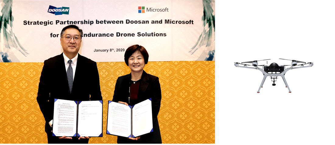 Microsoft Doosan Agreement Jan 2020