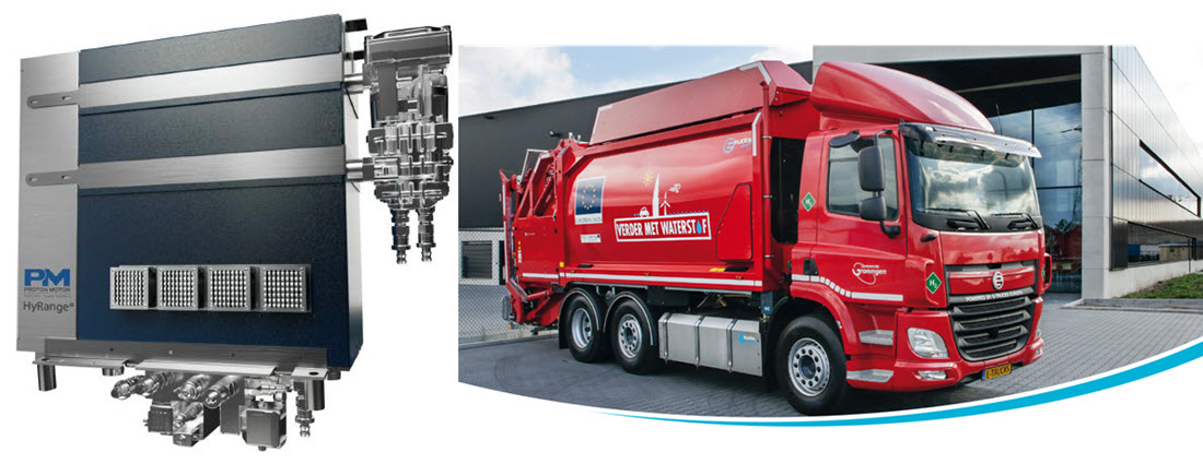 Proton Motor Fuel Cell Order for Garbage Trucks