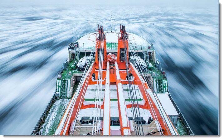 Sun WInd and Hydrogen Arctic