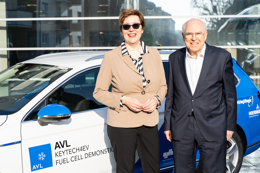 AVL Hydrogen Fuel Cell Demonstrator