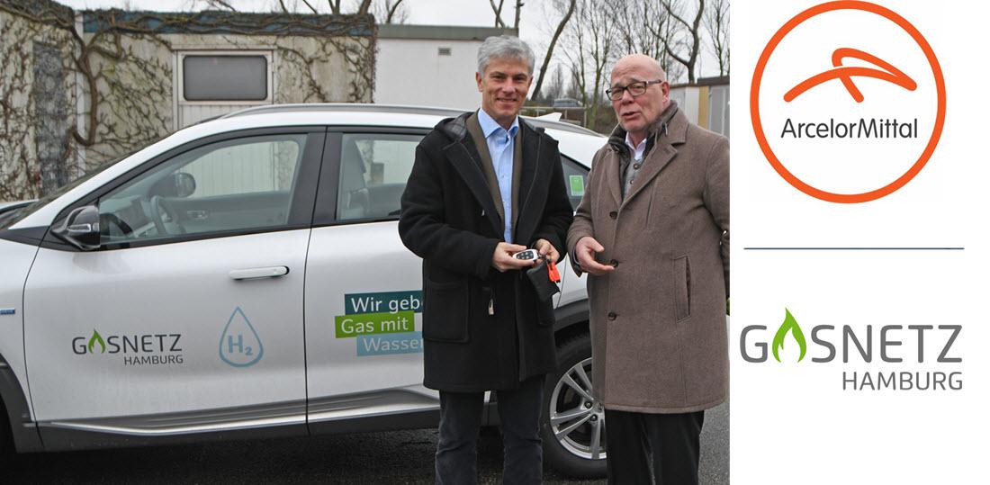ArcelorMittal Receives Hydrogen Car