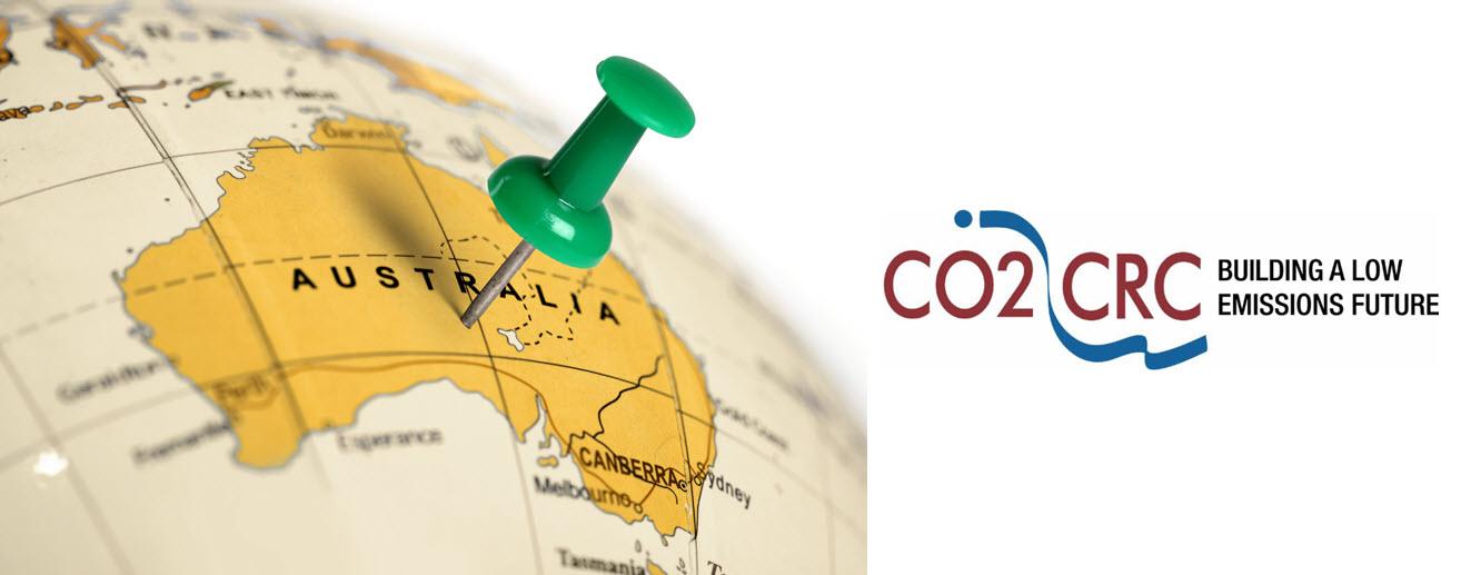 Australia on Globe CO2CRC