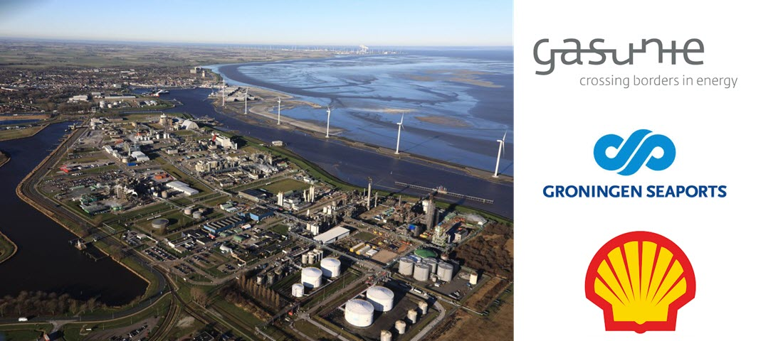 Chemical Park Delfzijl with Eemshaven Groningen Seaports