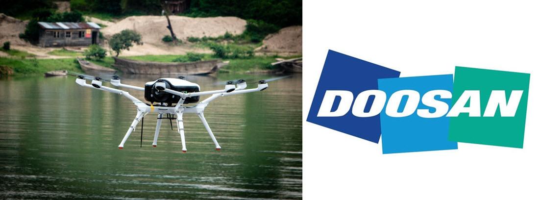 Doosan Drone Flight in Africa