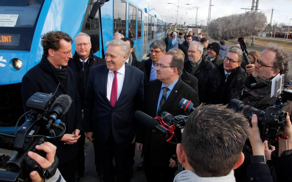 Duren Testing Hydrogen Trains
