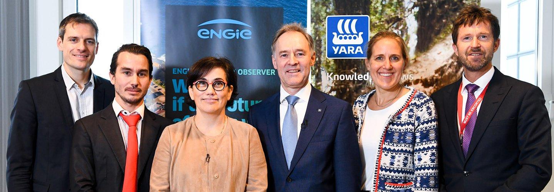 ENGIE Yara hydrogen news