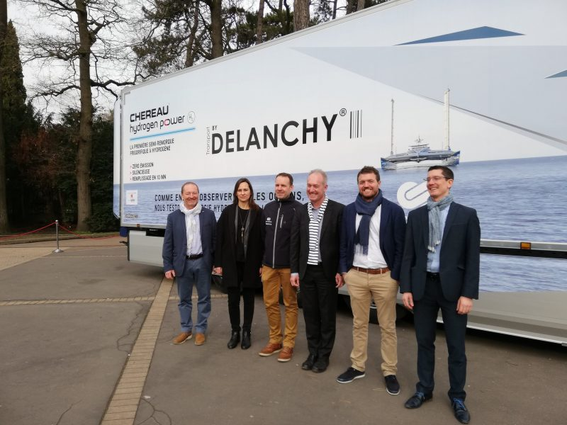Energy Observer and Chereau Sign Hydrogen Agreement