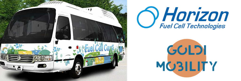 Horizon Fuel Cell Powered Bus Goldi