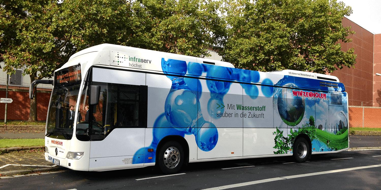 Infraserv Hydrogen Bus 1