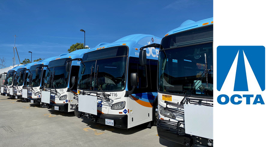 OCTA Hydrogen Fuel Cell Buses Main