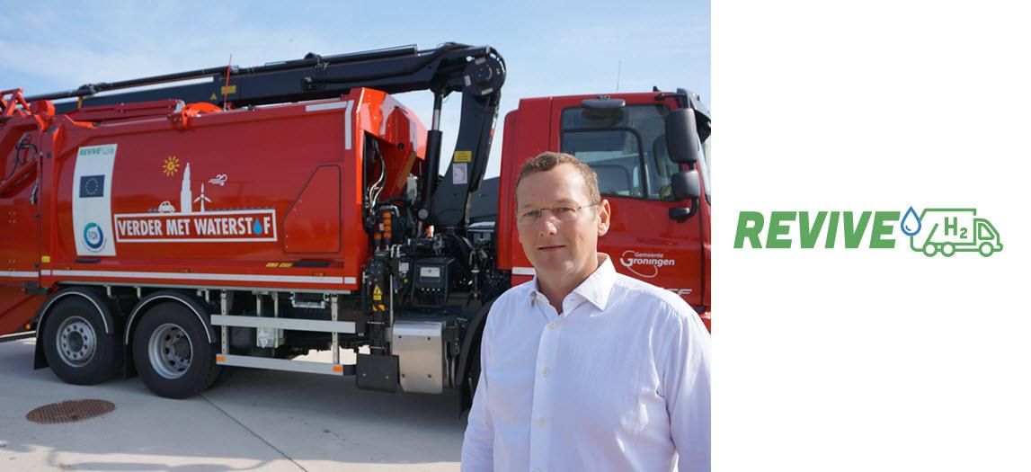 Revive hydrogen refuse trucks Main