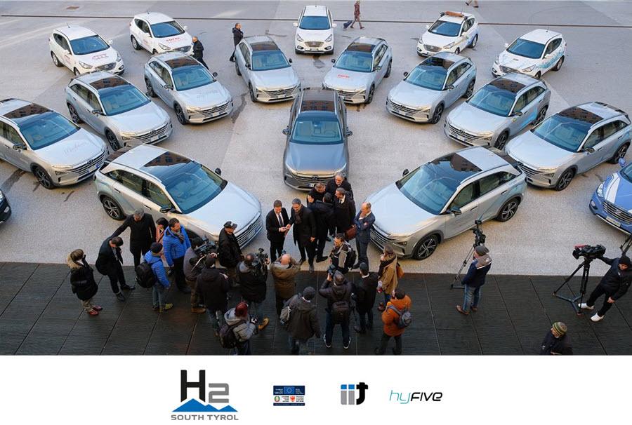 South Tyrol New Hydrogen Cars Main