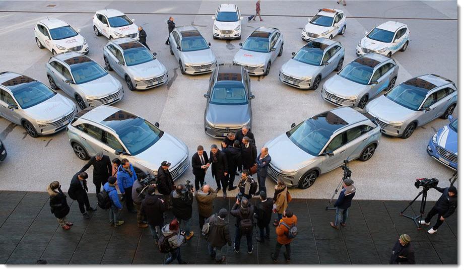 South Tyrol New Hydrogen Cars