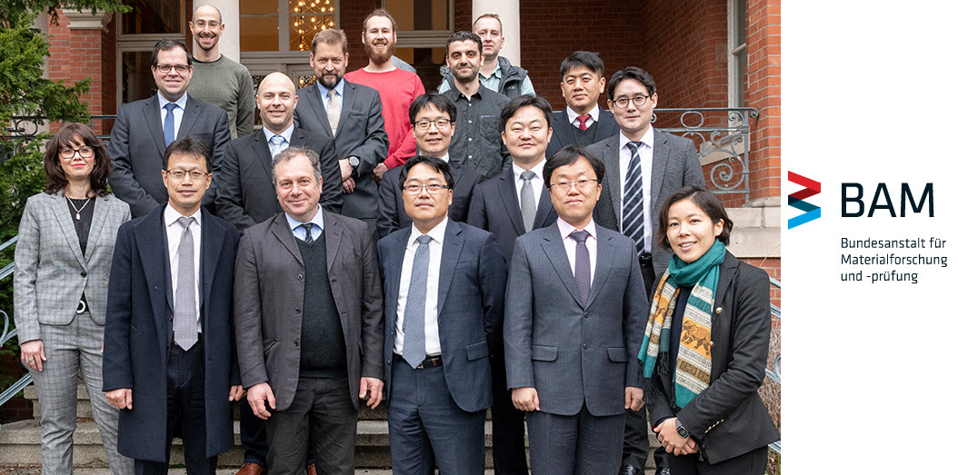Visit from South Korea to BAM Germany