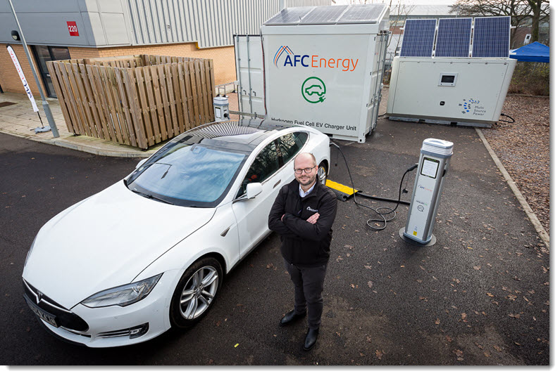 AFC Energy Hydrogen Charger