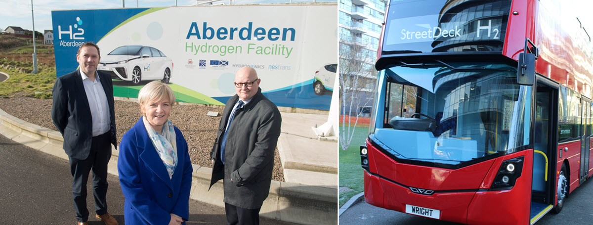 Aberdeen Double Decker Hydrogen Bus