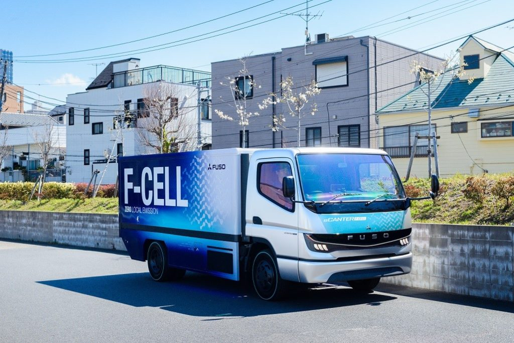 Fuso Starts Fuel Cell Truck Production 2