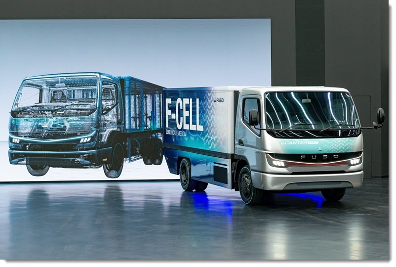 Fuso Starts Fuel Cell Truck Production
