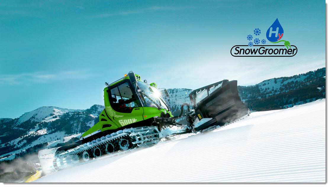 Hydorgen Snow Groomer Concept