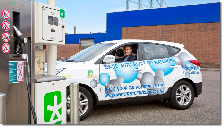 Hydrogen Station in the Hague 1