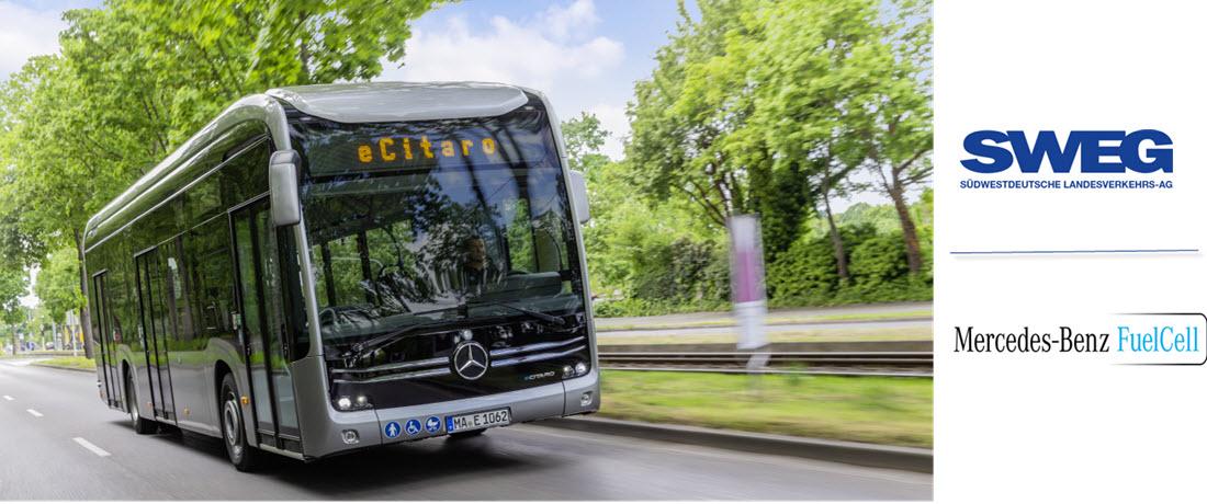 Mercedes Sweg Fuel Cell Bus