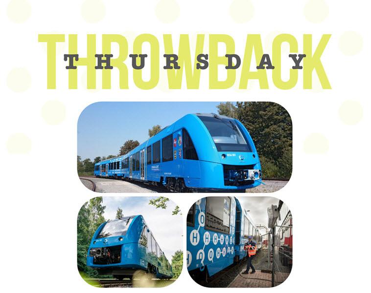 Throwback Thursday Hydrogen Trains