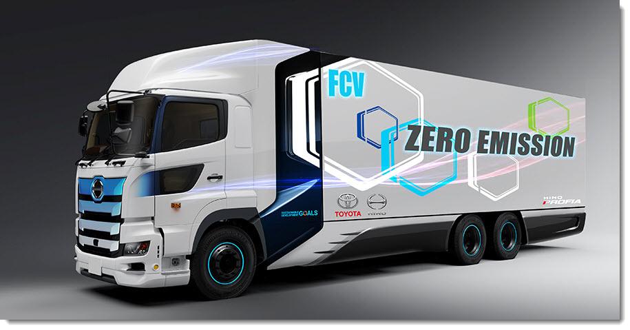 Toyota Heavy Duty Fuel Cell Truck