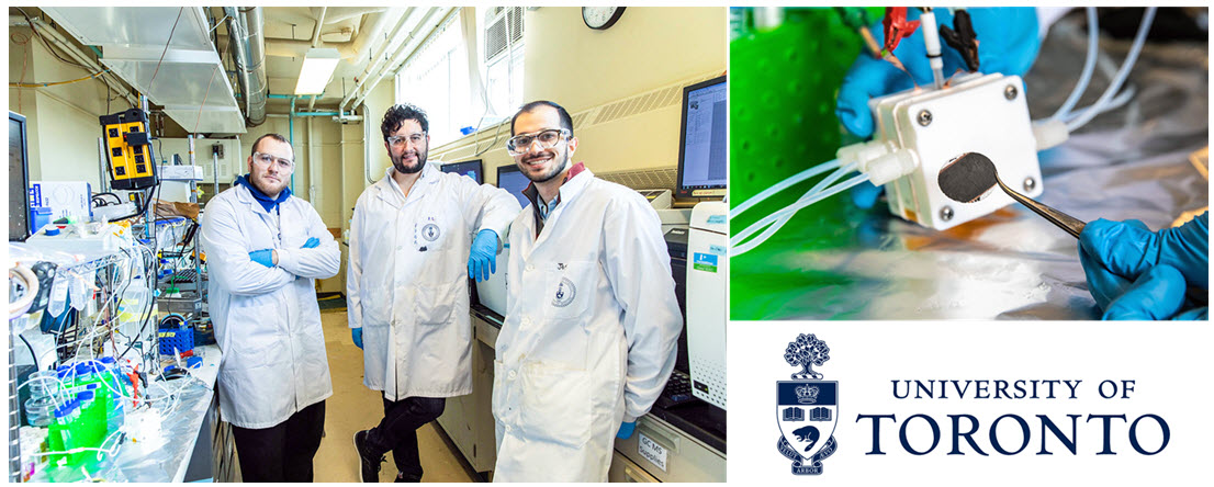 U of T Low Cost Catalyst for Hydrogen Production 1