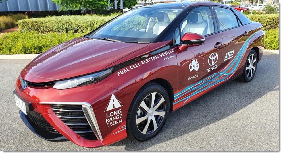 Australia toyota mirai fuel cell electric vehicle v2 1024x554 1