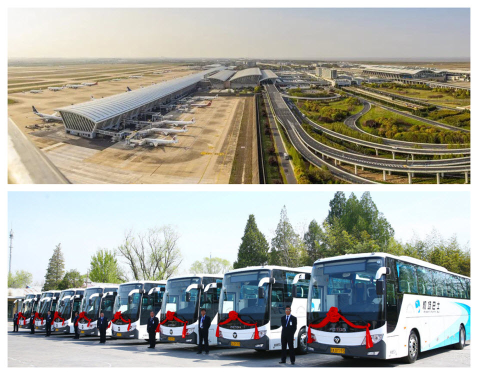 Beijing and Shanghai airports Main