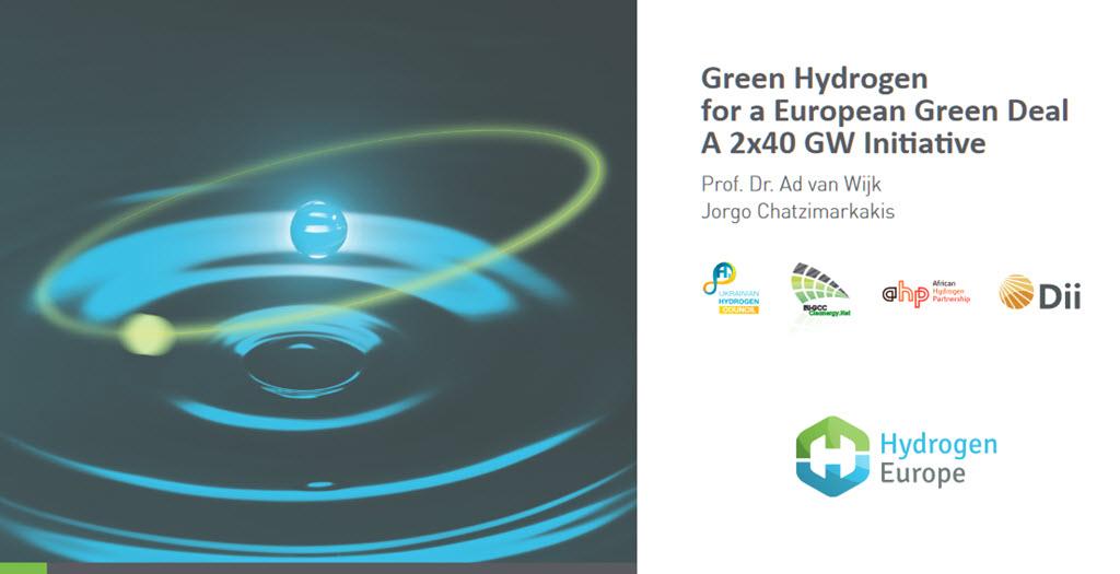 Hydrogen Europe Report on Green Hydrogen