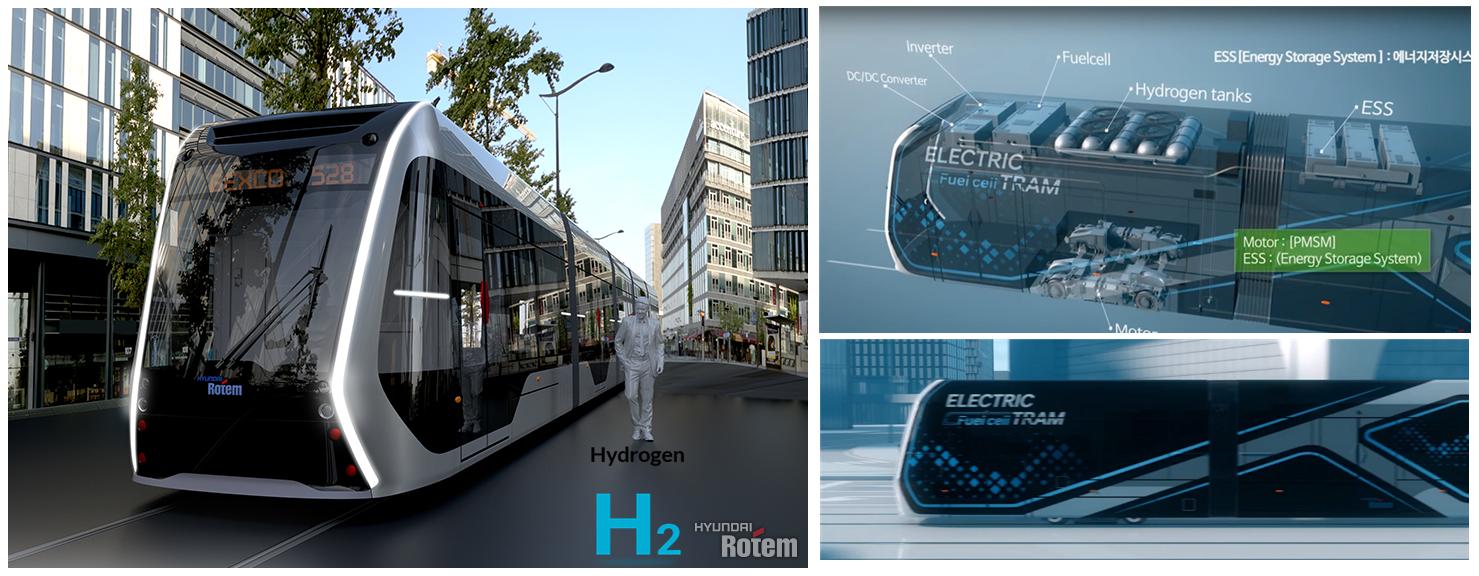 Hyundai Rotem Hydrogen Tram Main