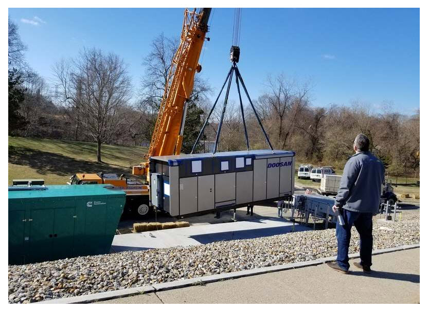 Montville Water Pollution Control Authority Facility Gets a Fuel Cell