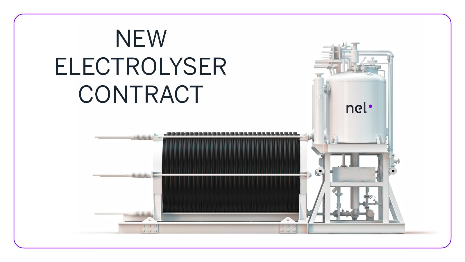 Nel new Electrolyser Contract for France
