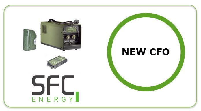 SFC New CFO